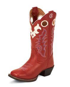Kid's Scarlet Baron Calf Boot