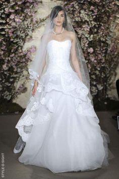 Oscar de la Renta Bridal SS2012