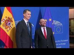 Martin Schulz recibe a S.M. el Rey en la sede del Parlamento Europeo en Estrasburgo - YouTube European Council, European Parliament, La Sede, Rey, Youtube, Strasbourg, Youtubers, Youtube Movies