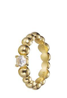 Esprit Jewel Ring, 925er Sterlingsilber gold Jetzt bestellen unter: https://mode.ladendirekt.de/damen/schmuck/ringe/goldringe/?uid=70f96a56-dab7-5c8d-974e-a430551ee59b&utm_source=pinterest&utm_medium=pin&utm_campaign=boards #schmuck #ringe #goldringe #bekleidung Bild Quelle: brands4friends.de