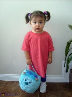 monsters inc boo baby costume - Monsters Inc Baby Halloween Costumes