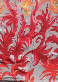 BIN 1 2006 Silk chameuse, Damascus 2.20m x 113 cm Much brighter