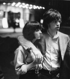 Chrissie and Mick - 1965.