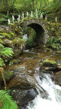 The Fairy Bridge of Glen Creran, Scotland Scotland Nature, Scotland History, Scotland Travel, Old Bridges, Beautiful Places To Travel, Amazing Places, Beautiful Ruins, Fantasy Landscape, Nature Pictures