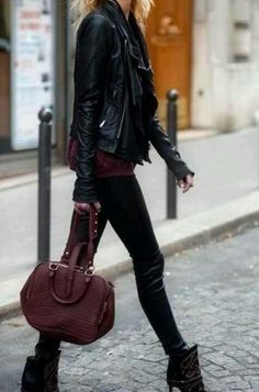 Leather & Oxblood