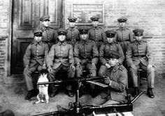 Batallón de ametralladoras, perteneciente al regimiento Tucapel Nº 11 de Temuco