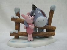 Walt Disney Winnie the Pooh Friendship Keeps You Warm Retired Eeyore Piglet