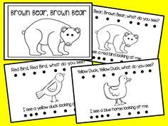 Brown Bear, Brown Bear and a Freebie Bears Preschool, Preschool Colors, Kindergarten Literacy, Literacy Activities, English Activities, Brown Bear Activities, Teaching Colors, Preschool Curriculum, Literacy Centers