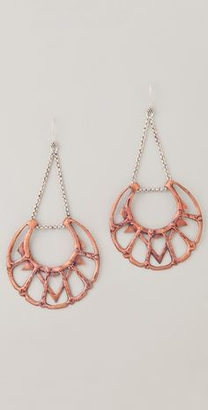 Bing Bang Moon Chandelier Earrings. How cute are these?!