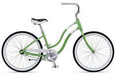 Giant Simple Single Cruiser W Womens Bike 2012 (Light Green/White) - my fav color!