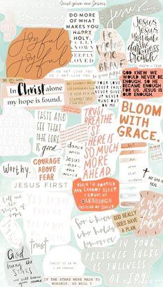Wallpaper Collage, Jesus Wallpaper, Cute Patterns Wallpaper, Iphone Background Wallpaper, Screen Wallpaper, Iphone Wallpaper Tumblr Aesthetic, Aesthetic Pastel Wallpaper, Aesthetic Wallpapers, Cute Wallpaper Backgrounds