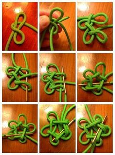 Star Knot 2 part by Dman McqThumbnail for version as of 4 August 2013 Paracord Tutorial, Macrame Tutorial, Bracelet Tutorial, Rope Knots, Macrame Knots, Micro Macrame, Knot Braid, The Knot, Rope Crafts
