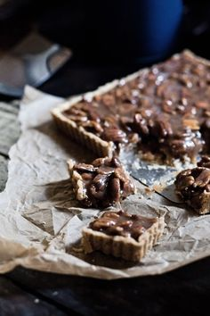 Caramel Pecan Bars!  Need I say more...and this easy recipe will give you candy neophytes more experience making caramel.