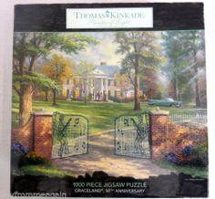 Thomas Kinkade Graceland 50th Anniversary 1000 pcs Jigsaw Puzzle 2007 NEW