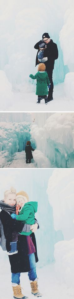 The Midway Ice Castles  UTAH
