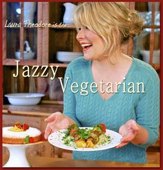 Jazzy VEGITARIAN.......Everthing Vegitarian from recipes vlogs music and so much more.  -  and an Blog
