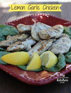 ... grilled lemon garlic chicken gluten free grilled lemon garlic chicken