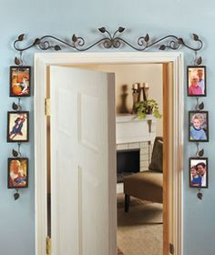 doorway Idea ...so awesome!!!