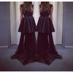 """Eco leather dress by Coo Culte #CooCulteDress #CooCulteLeather #CooCulteBlack"""