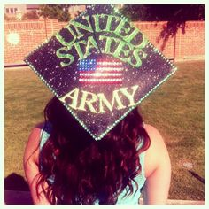 My 2014 United States Army, High School Graduation Cap.