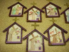 You& find over 65 different Lenten Arts and Crafts ideas here, with pictures of the projects and the site names to the tutorials. You& find this article useful if you teach a Sunday school class. Catholic Lent, Catholic Crafts, Church Crafts, Catholic Icing, Catholic Children, Religion Activities, Teaching Religion, Easter Art, Easter Crafts