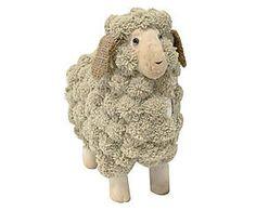 Adorno ovelha carino - 25cm