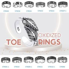Silver toe rings made by safasilver.com at our Thailand factory are from premium quality 925 sterling silver. Apart from the silver surface, we also offer different hand-painted glossy color varieties and colorful abstract designs to our customers. #silver #jewely #toerings #toe #rings #oxidized #jewelryoftheday #love #jewelrymaking #jewelrylover #uniquejewelry #puresilver #silverlove Sterling Silver Toe Rings, Wholesale Silver Jewelry, Jewelry Design, Unique Jewelry, Buying Wholesale, Abstract Designs, Hand Painted, Thailand, Surface