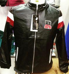 Jacket Kulit  Size M L XL RM95 SAHAJA Whatsapp +60134269210 #BlackDoomSriMayangKala