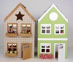 Resultado de imagen para paper doll house