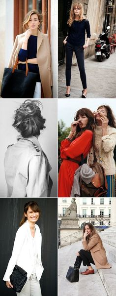 """""""I was once told, when you turn 30, you turn French. French women have an effortless style that is the envy of a lot of women. It has been said that when one hits her 30's she knows where she's going in life and what looks great on her."""""""