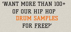 Are you ready for the hardest-knocking Drum Sounds? Get more than 100 Drum Sounds straight out of our exclusive library for free at http://realdrumsamples.com/
