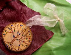 Family Tree Ornament  Gift for Father Grandfather by mandalarain, $55.00
