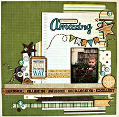 I Think You're Amazing - Scrapbook.com