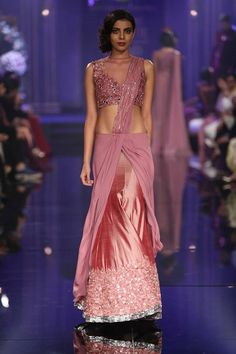 Pretty onion pink lehenga by Manish Malhotra 5 Lakme Fashion Week Winter Festive 2014