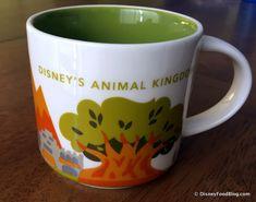 "Starbucks Animal Kingdom ""You Are Here"" Mug"