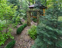 These symbols add a deep dimension to the Inner Roji Garden Path that each individual walks prior to entering a Japanese Tea House structure or participating in a Tea ceremony. Description from miriamsriverhousedesigns.com. I searched for this on bing.com/images