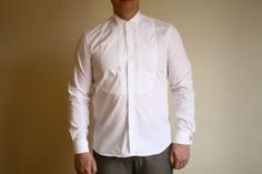 Vintage Men's Ginalebole Winter White Fitted by VintageEasyStyle, $27.00