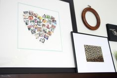 Guestroom revamp - picture ledge - gallery wall - This is our Bliss