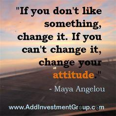 If you don't like something …  #DoSomethingDifferent #Motivation #Inspiration #Quotes #Inspire #Inspired