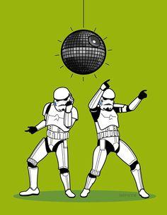 Stormtrooper dance on Behance