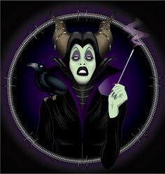 Sharon Needles [as Maleficent feat. Diablo] (RuPaul's Drag Race by Dezignjk @deviantART) #SleepingBeauty