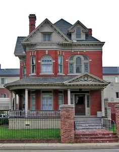 Queen Anne Style House Johnstown Pennsylvania By Paul McClure DC What A SHAME They Built Looks Like Townhouses Right Behind This Historic Jewel