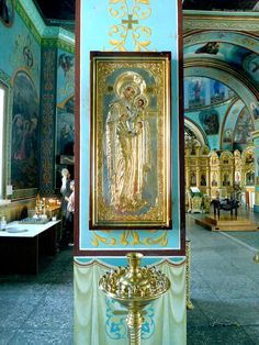 Absolutely fabulous icon of Our Lady #icons #Virgin #christianity #catholic #orthodox #art