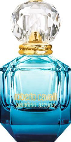 My sweet valentine: Paradiso Azzurro the new feminine fragrance by Roberto Cavalli