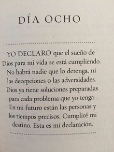 Día 8 Bible Quotes, Bible Verses, Yoga Mantras, Beautiful Prayers, Joel Osteen, Dear Lord, Religious Quotes, Quotes About God, Trust God