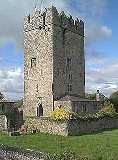Ballyhannon Castle . . . County Clare