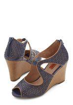 Miz Mooz Penchant for Pretty Wedge | Mod Retro Vintage Heels | ModCloth.com