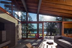 Dwell - An Off-the-Grid Island Home for a Seattle Music Producer