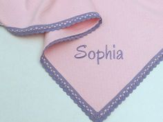 Personalized Pink Flannel Baby Blanket Lavender Lace Girl Blanket Pique Flannel Baby Blanket Crib Swaddle Blanket Baby Shower Gift by VirgoCottonLinen on Etsy #Nursery #BabyBedding #BabyGirlBlanket #Pink Blanket #Purple Blanket #LavenderBlanket #GreekLinens #BabyLinens