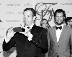 @Ken Vega Cole and Blake Mycoskie of TOMS Shoes  Photo Credit: BFA